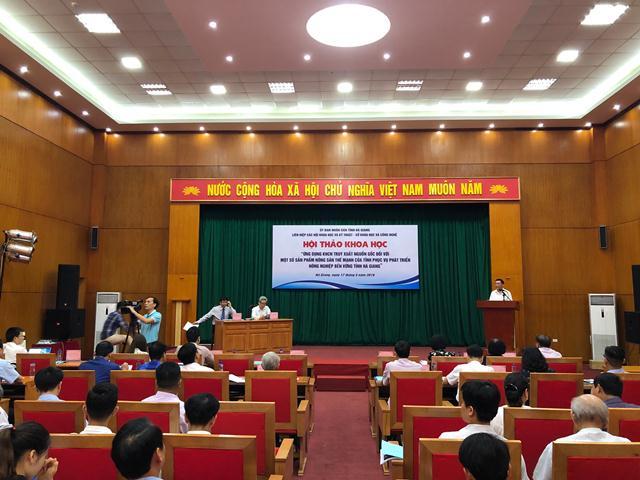 Hà Giang: Ứng dụng KHCN trong truy xuất nguồn gốc đối với sản phẩm nông sản