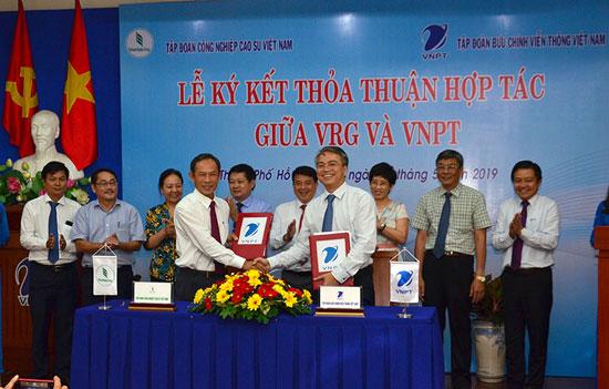 Tập đoàn Cao su Việt Nam ứng dụng các giải pháp công nghệ vào sản xuất, kinh doanh