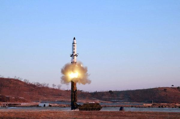 Báo Hàn Quốc: Triều Tiên vừa bắn thử tên lửa tầm ngắn
