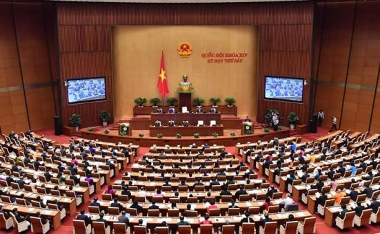 Sáng nay khai mạc trọng thể Kỳ họp thứ 7, Quốc hội khóa XIV