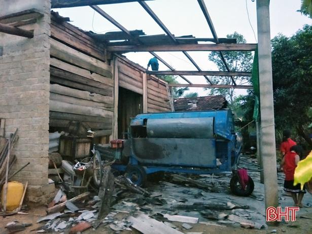 Mưa to tiếp tục gây nhiều thiệt hại tại một số tỉnh miền Trung