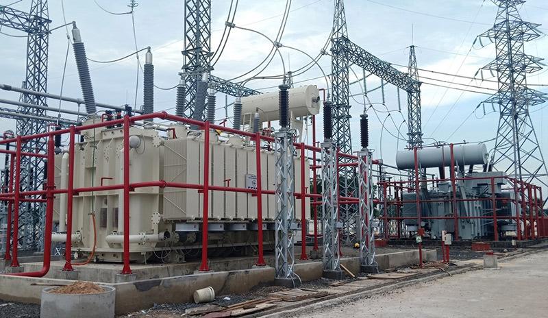 Hoàn thành dự án nâng công suất Trạm biến áp 220kV Xuân Lộc