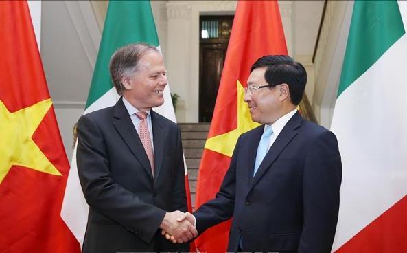 Đưa quan hệ Đối tác chiến lược Việt Nam – I-ta-li-a tiếp tục phát triển toàn diện, đi vào chiều sâu và hiệu quả