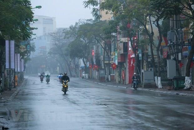 Bắc Bộ và Trung Bộ giảm mưa, nhiệt độ tăng nhẹ, Tây Nguyên và Nam Bộ chiều tối có mưa dông