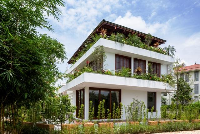 """Công trình """"Step House"""" tại tỉnh Vĩnh Phúc - Việt Nam đạt """"Giải thưởng A'Design 2018"""" tại Ý"""