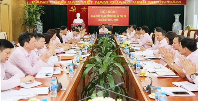 Phát huy vai trò tổ chức Đảng trong NHCSXH Việt Nam