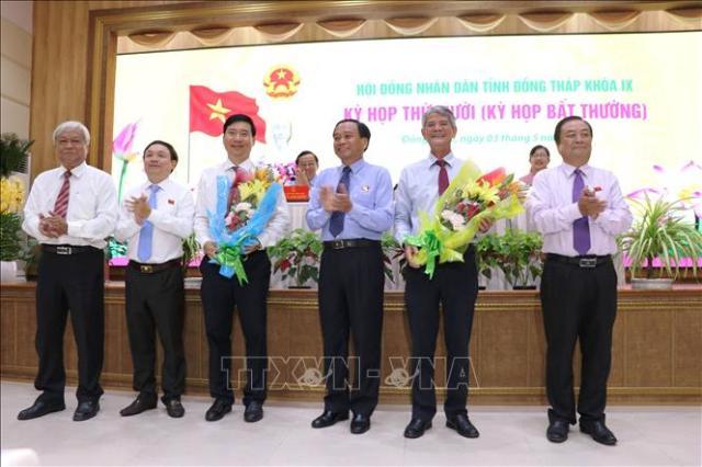 Bầu bổ sung Phó Chủ tịch UBND tỉnh Đồng Tháp