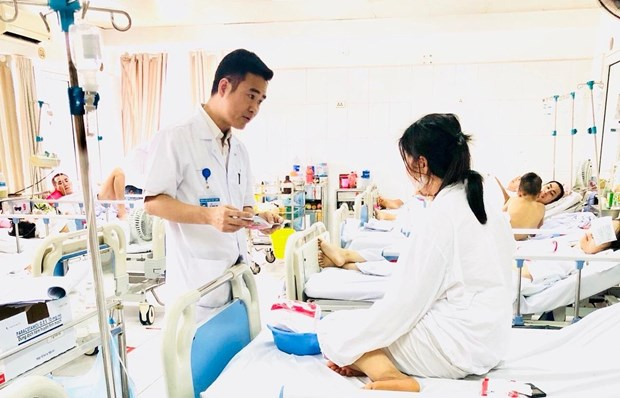 Cứu sống bệnh nhân gặp tai nạn lao động