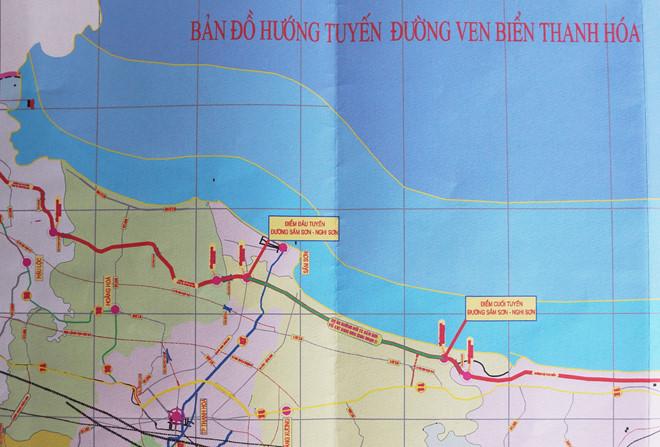 Đầu tư xây đường bộ ven biển, đoạn qua tỉnh Thanh Hóa
