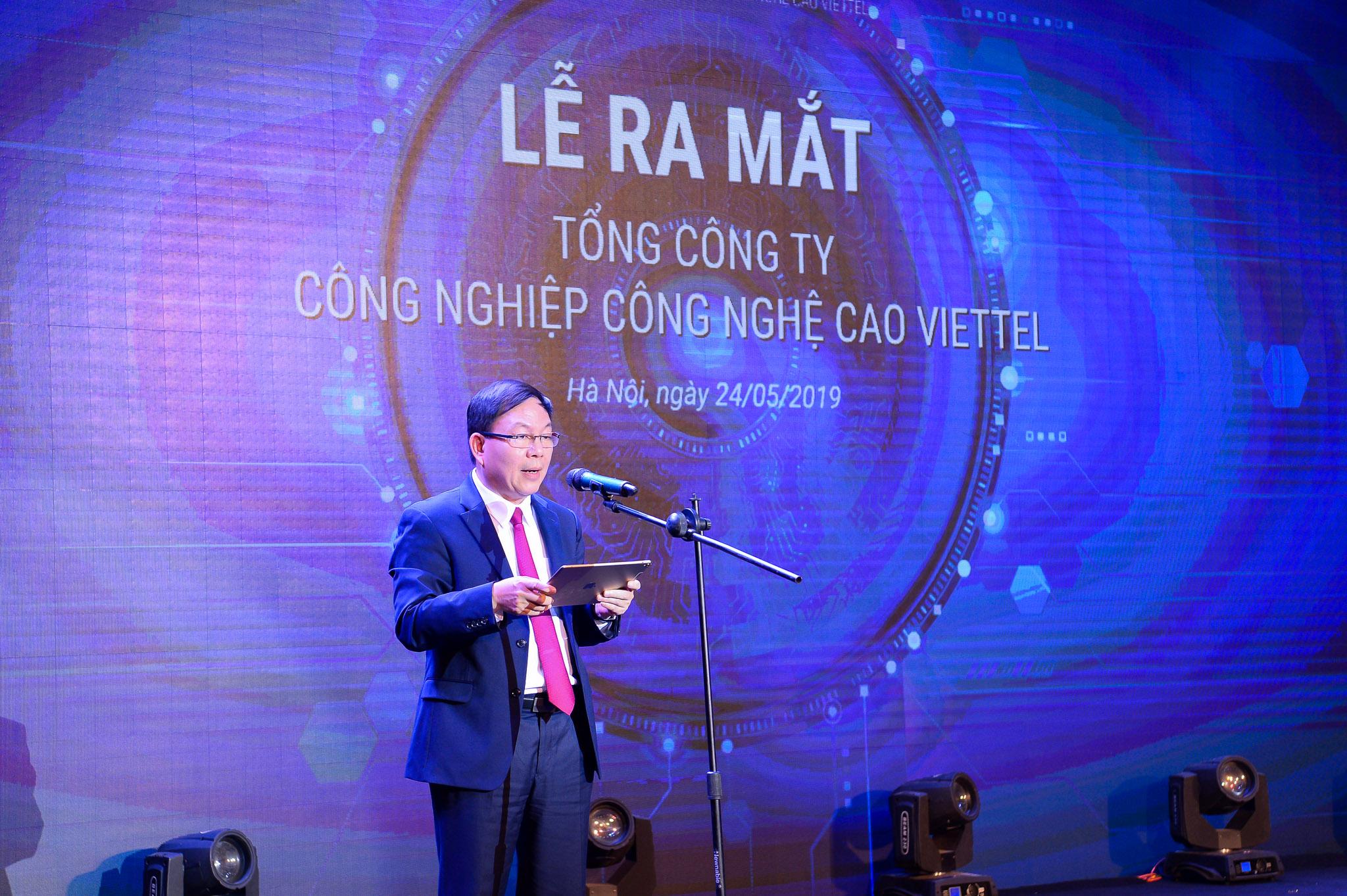 Ra mắt Tổng Công ty Công nghiệp Công nghệ cao Viettel