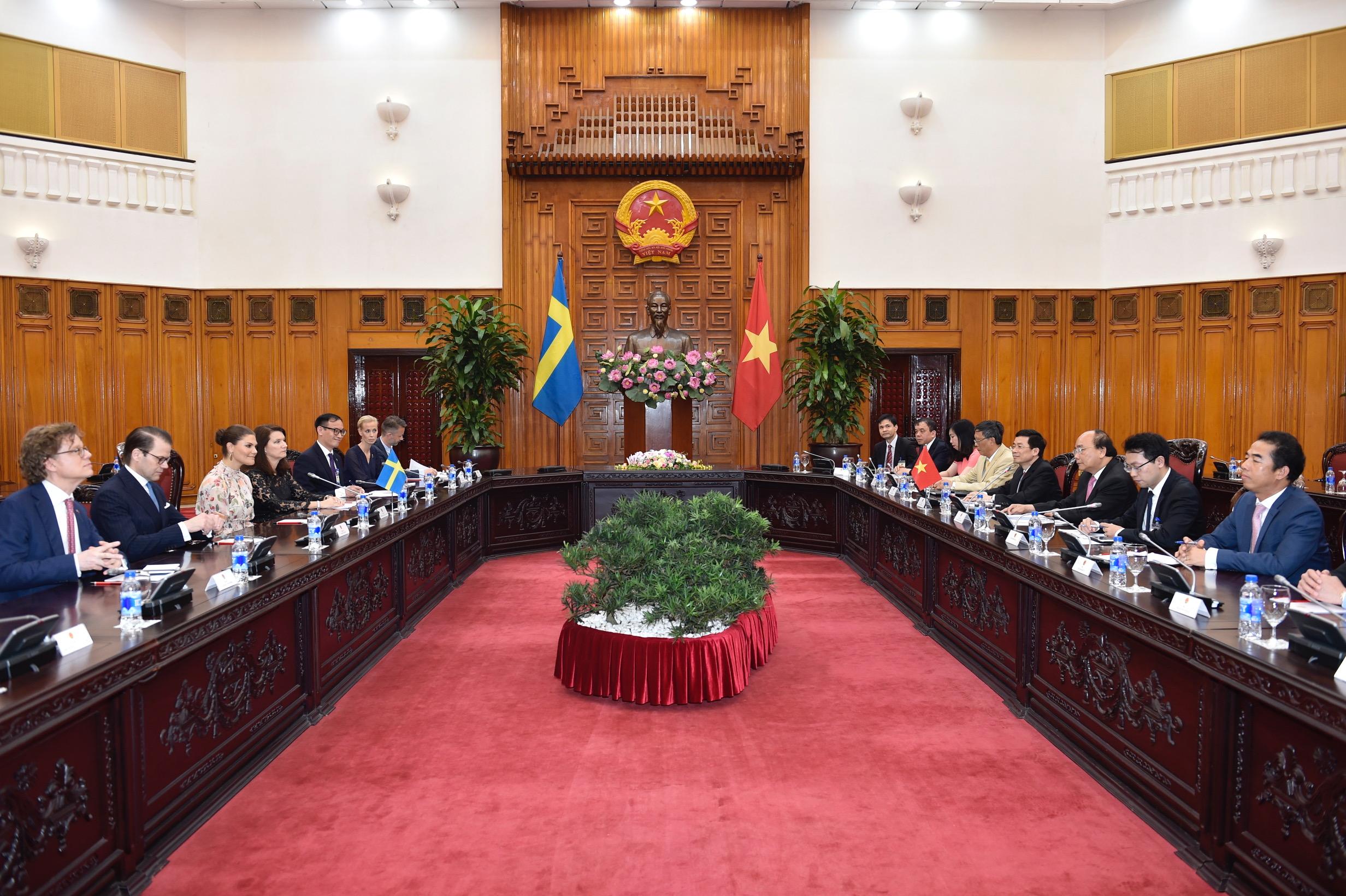 Nỗ lực thúc đẩy quan hệ hữu nghị và hợp tác giữa Việt Nam - Thụy Điển