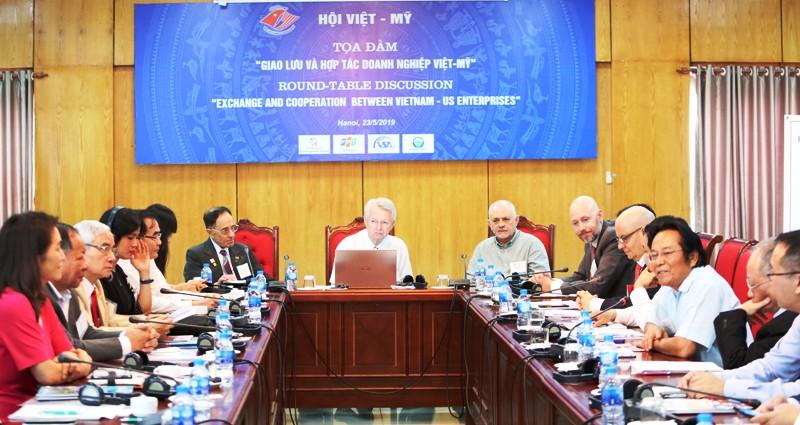 Thúc đẩy giao lưu, hợp tác doanh nghiệp Việt - Mỹ