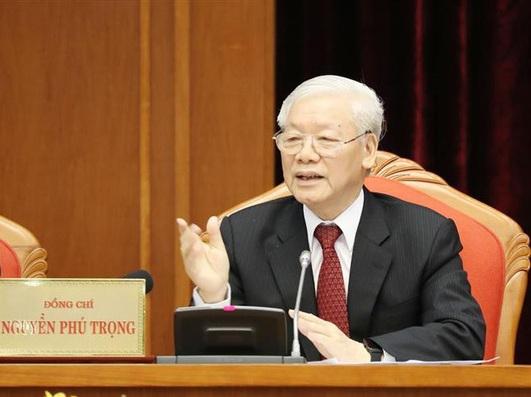 Phát biểu của Tổng Bí thư, Chủ tịch nước Nguyễn Phú Trọng khai mạc Hội nghị Trung ương 10 khóa XII