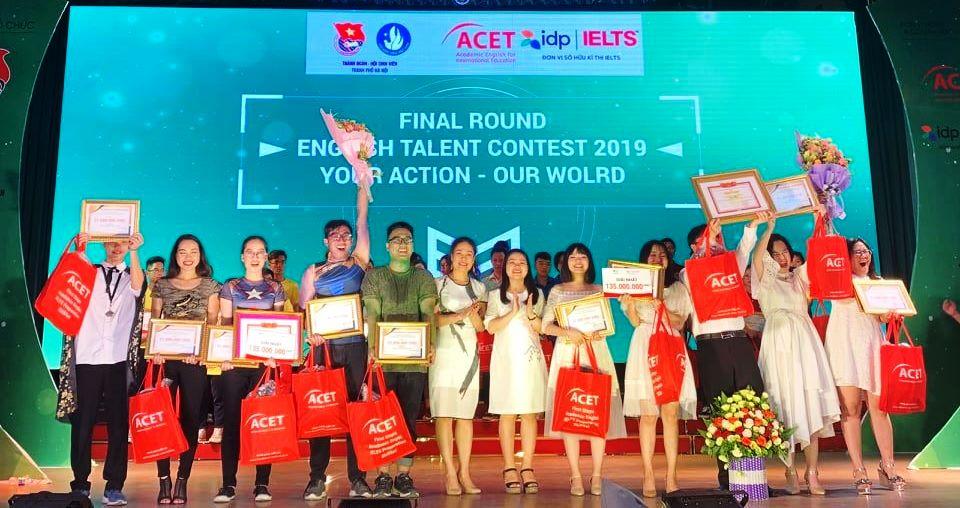 Chung kết cuộc thi Tài năng Anh ngữ học sinh, sinh viên Thủ đô lần thứ III