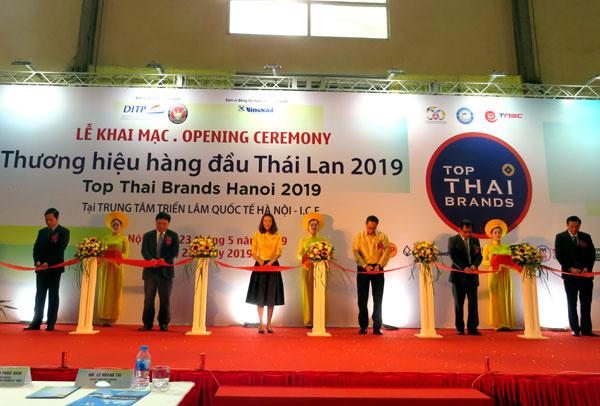 Triển lãm Thương hiệu hàng đầu Thái Lan 2019 tại Hà Nội