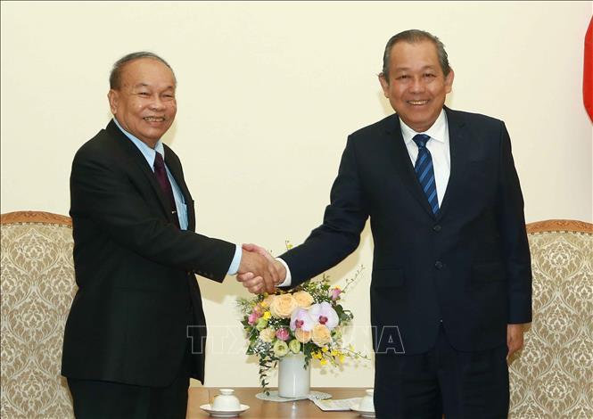 Tăng cường quan hệ đoàn kết, hữu nghị Việt Nam - Campuchia