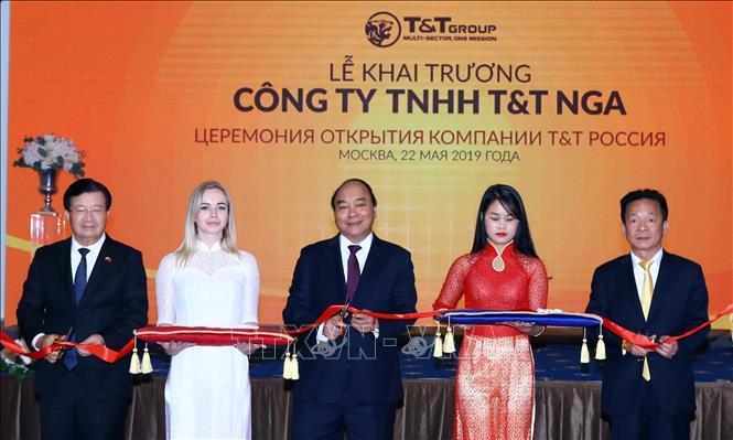 Thủ tướng Nguyễn Xuân Phúc dự lễ khai trương hoạt động của Tập đoàn T&T Group
