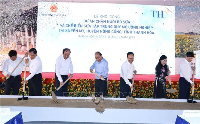 Khởi công Dự án chăn nuôi bò sữa và chế biến sữa tại Thanh Hóa