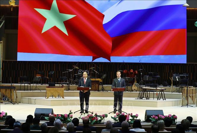 Khai mạc Năm hữu nghị Việt - Nga tại thủ đô Moskva
