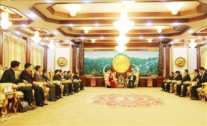 Quan hệ đoàn kết đặc biệt Lào - Việt Nam ngày càng phát triển sâu rộng
