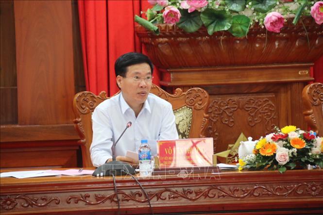 Tiền Giang cần tăng cường khơi dậy tính tiên phong, gương mẫu của cán bộ, đảng viên