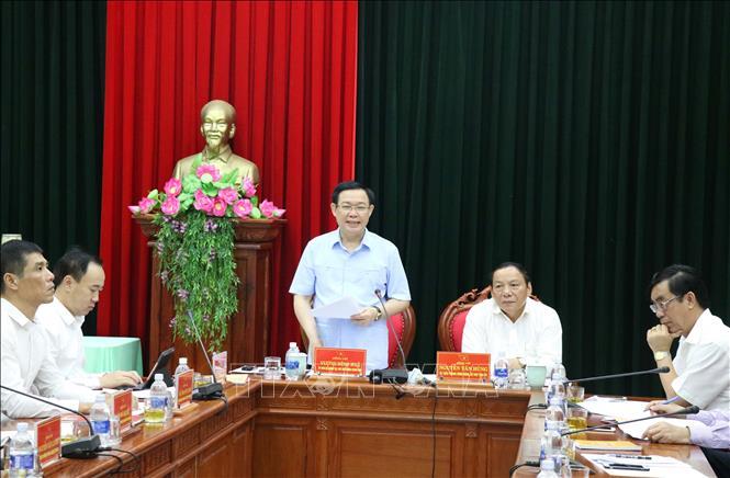 Đoàn kiểm tra của Bộ Chính trị làm việc tại tỉnh Quảng Trị