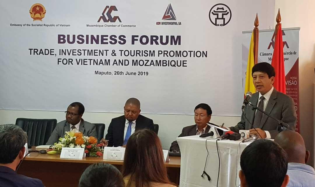 Xúc tiến hợp tác đầu tư thương mại và du lịch Việt Nam – Mozambique