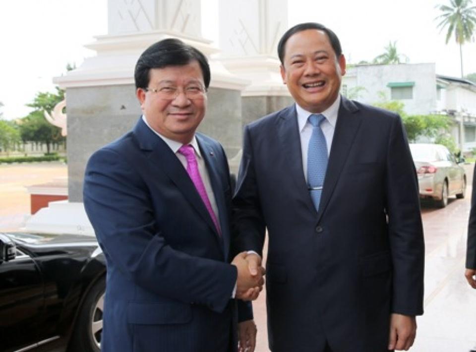 Thúc đẩy hơn nữa quan hệ hữu nghị, hợp tác Việt Nam - Lào