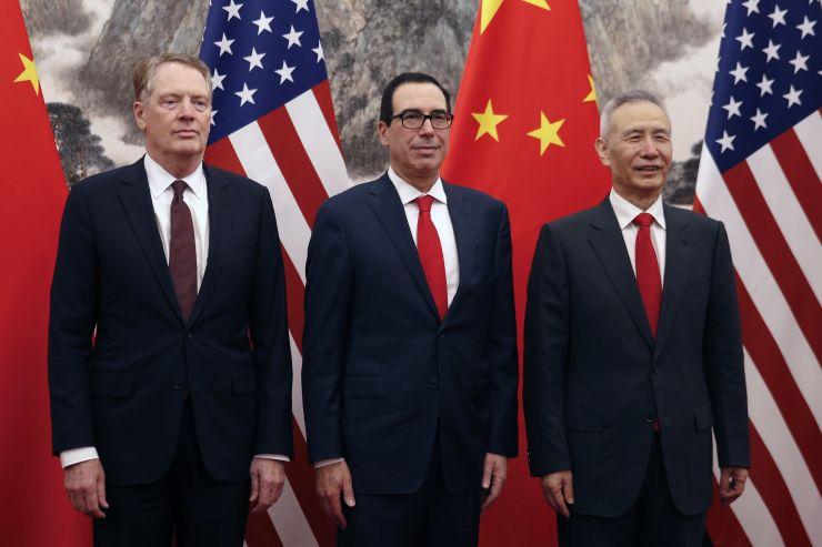 Đại diện Mỹ và Trung Quốc điện đàm về các vấn đề thương mại