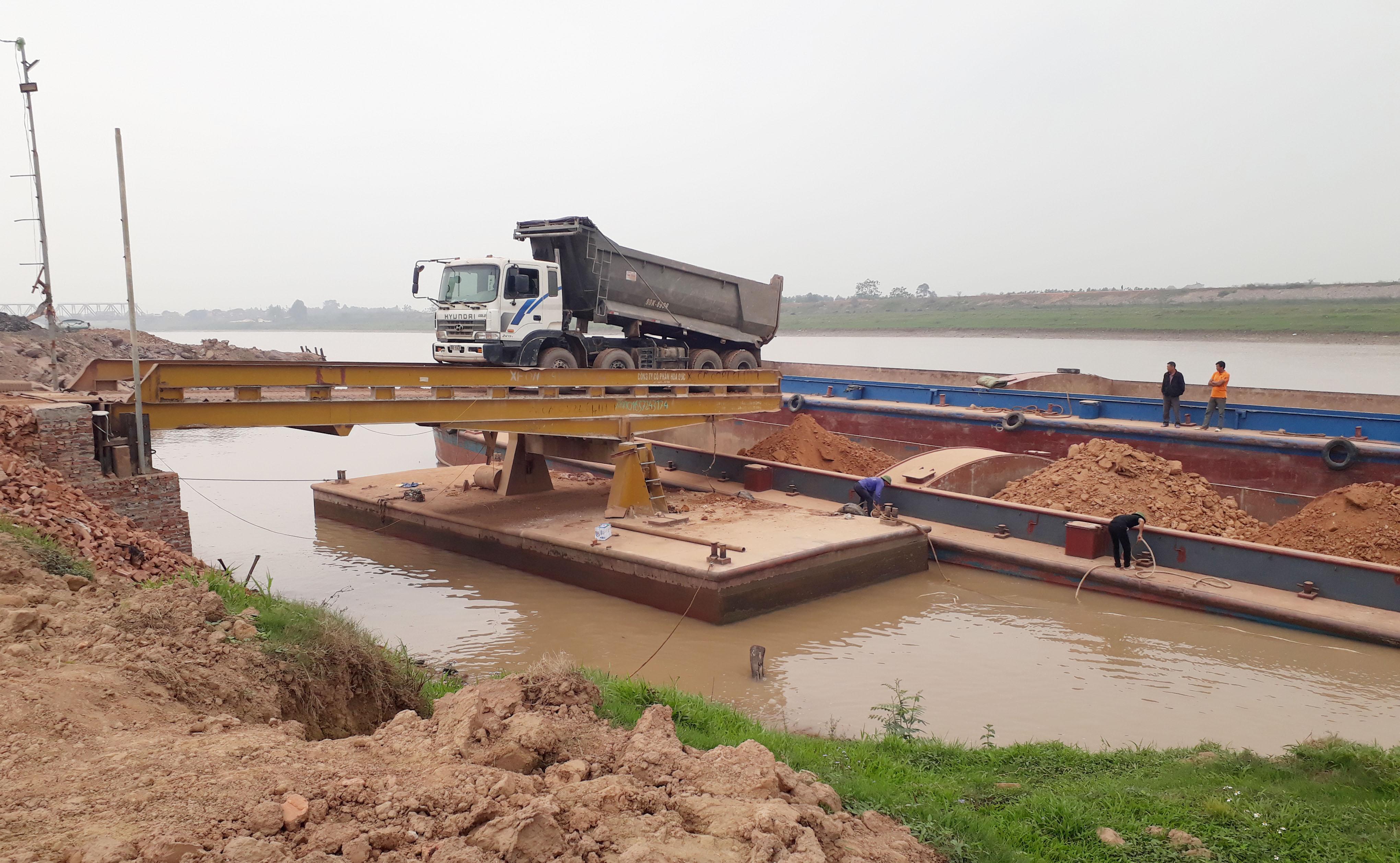 Bắc Giang: Tái diễn nhiều bến thủy nội địa trái phép 