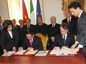 Thúc đẩy quan hệ đối tác chiến lược Việt Nam - Italy