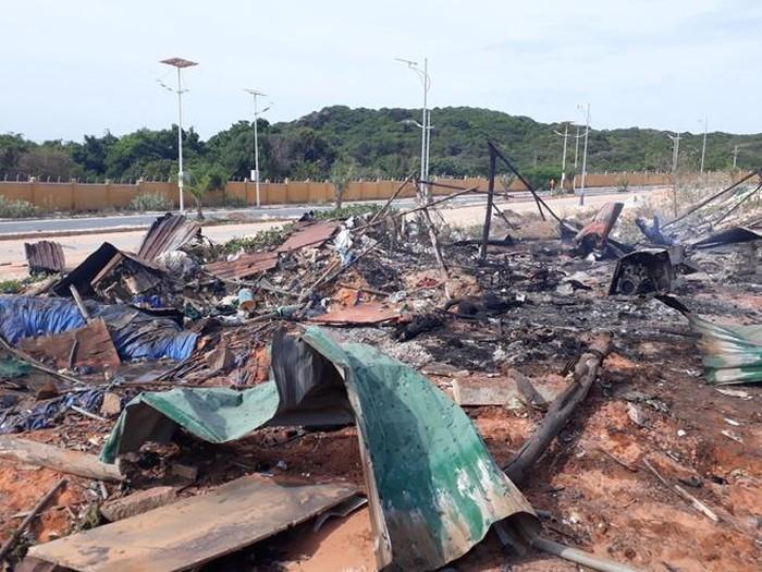 Vụ cháy nổ ở sân golf Khánh Hòa làm 2 người chết, 8 người bị thương