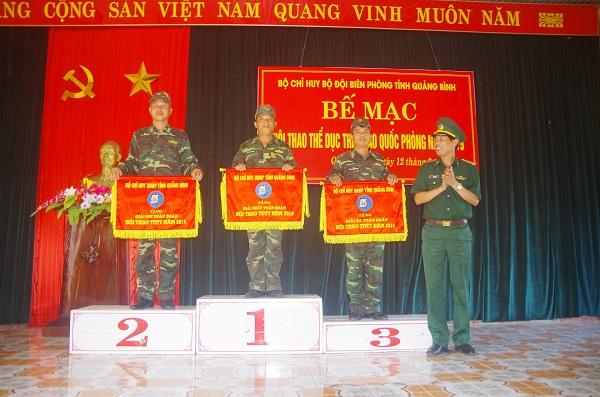 Bộ đội Biên phòng Quảng Bình chú trọng thúc đẩy huấn luyện, rèn luyện thể dục thể thao