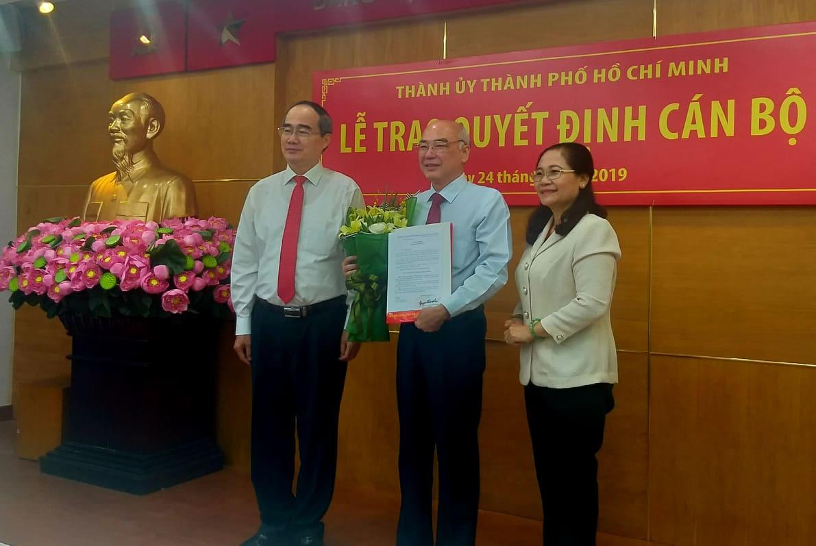 Đồng chí Phan Nguyễn Như Khuê giữ chức Trưởng ban Tuyên giáo Thành ủy TP Hồ Chí Minh