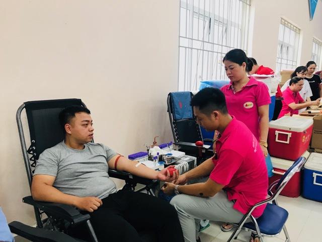 6 tháng đầu 2019, quận Ba Đình (Hà Nội) vận động 3.568/3.275 đơn vị máu