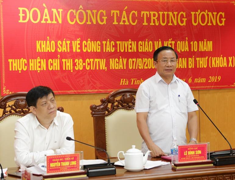Hà Tĩnh: Nhiều kinh nghiệm triển khai thực hiện các nghị quyết, chỉ thị của Đảng