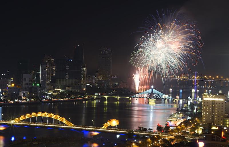 Mãn nhãn Lễ hội pháo hoa Quốc tế Đà Nẵng 2019