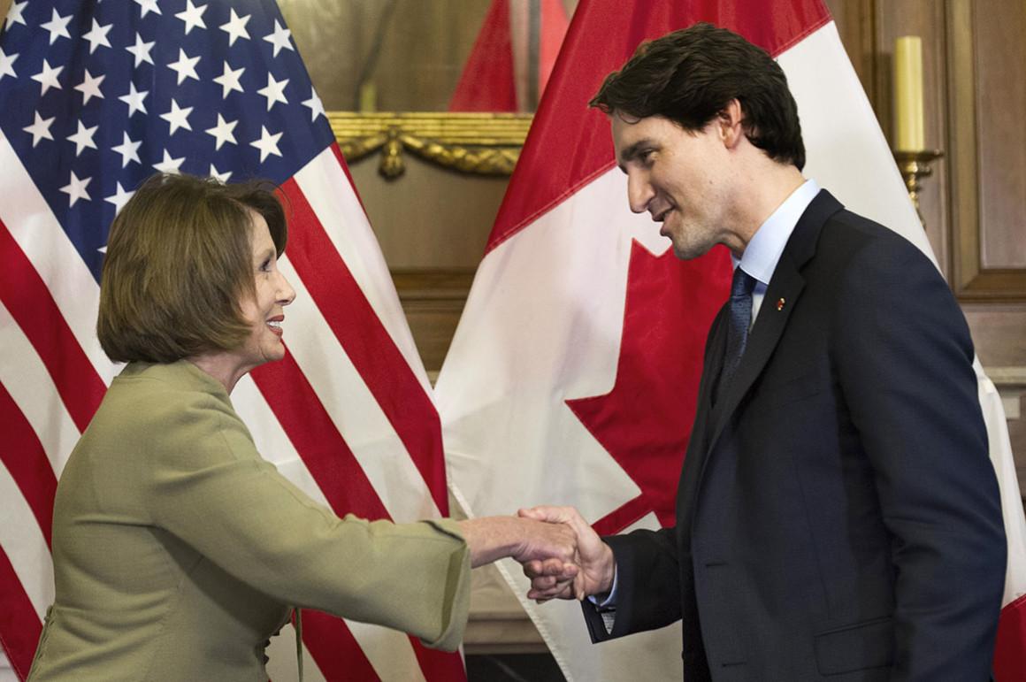 Thủ tướng Canada thăm Mỹ, hối thúc phê chuẩn Hiệp định USMCA