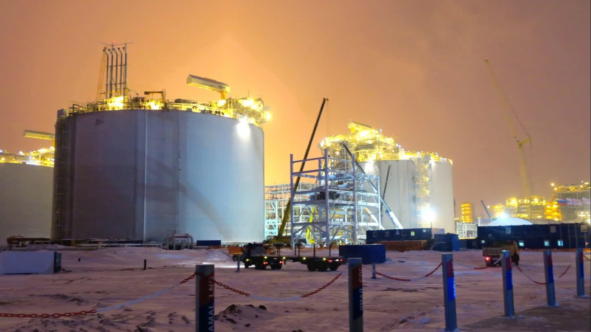 Nga sẽ tăng sản lượng khí LNG lên 120 triệu tấn vào năm 2035