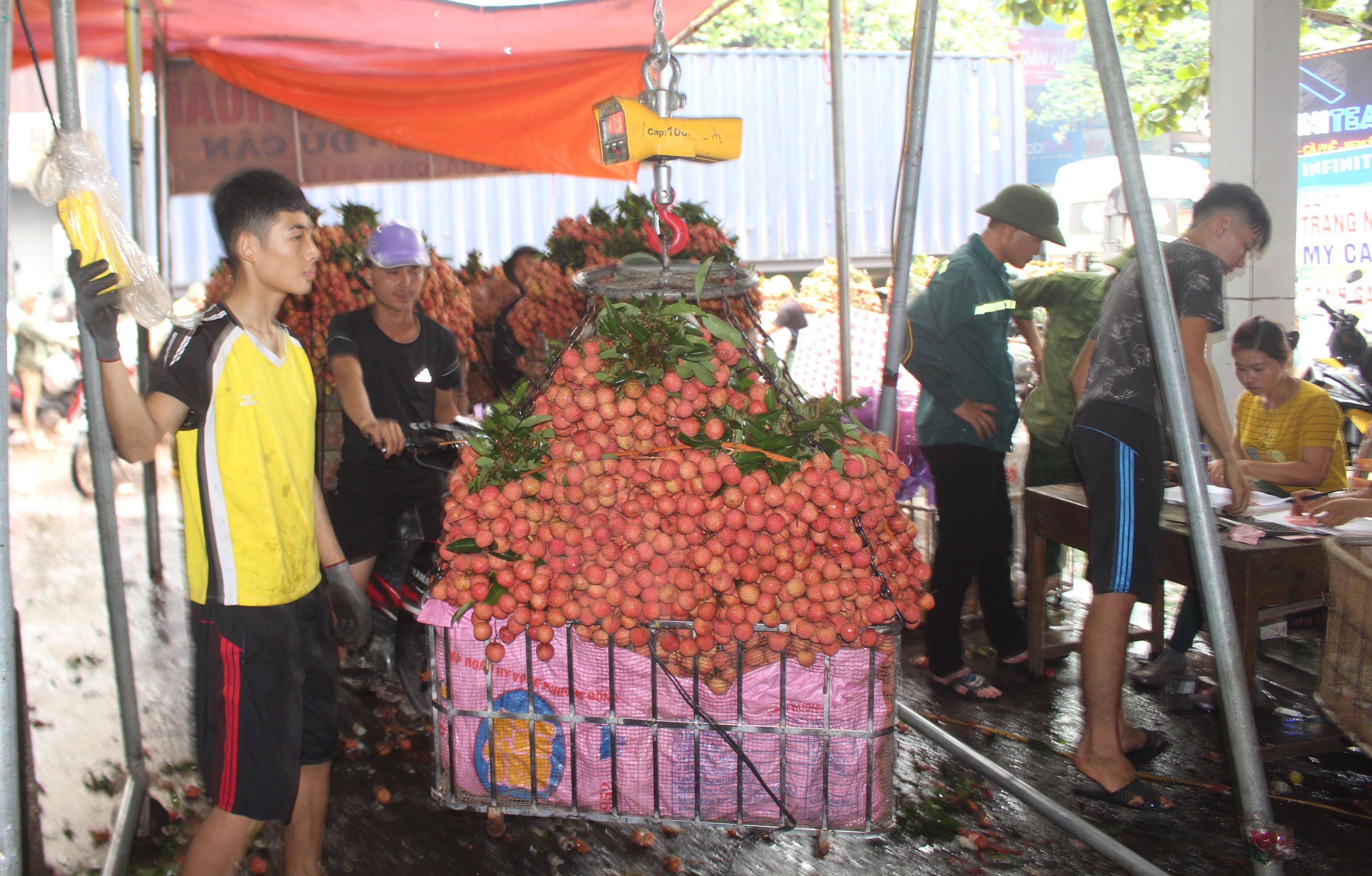Lục Ngạn (Bắc Giang): Nhuộm đỏ sắc vải thiều  