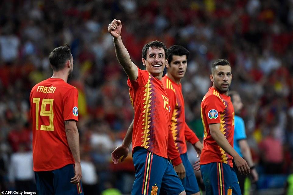 Tây Ban Nha toàn thắng tại vòng loại Euro 2020