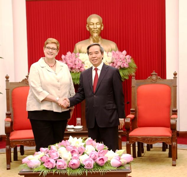 Thúc đẩy hợp tác chiến lược Việt Nam-Australia