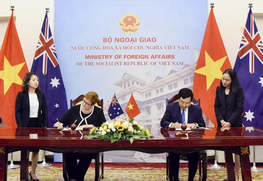Quan hệ Việt Nam - Ô-xtrây-li-a phát triển tích cực và bền vững