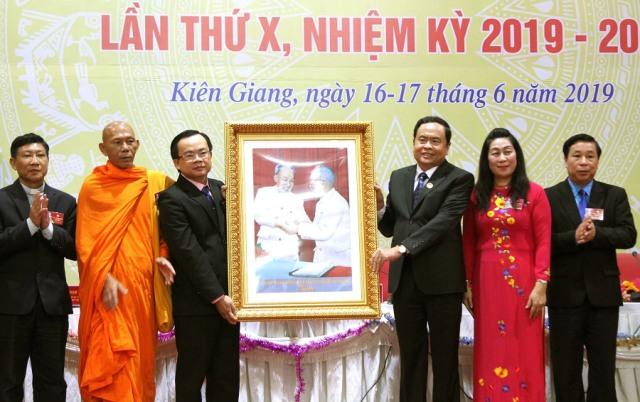 Đại hội đại biểu Mặt trận Tổ quốc Việt Nam tỉnh Kiên Giang lần thứ X, nhiệm kỳ 2019-2024