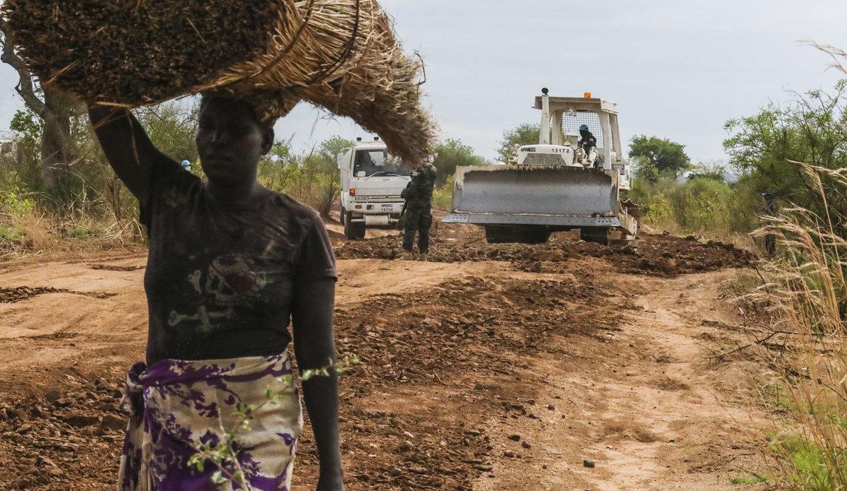 Liên hợp quốc giúp Nam Sudan cải thiện cơ sở hạ tầng đường sá