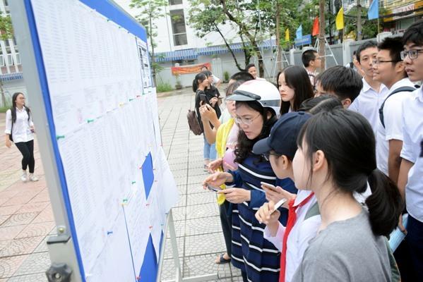 Hà Nội công bố điểm chuẩn lớp 10 các trường chuyên và không chuyên năm 2019