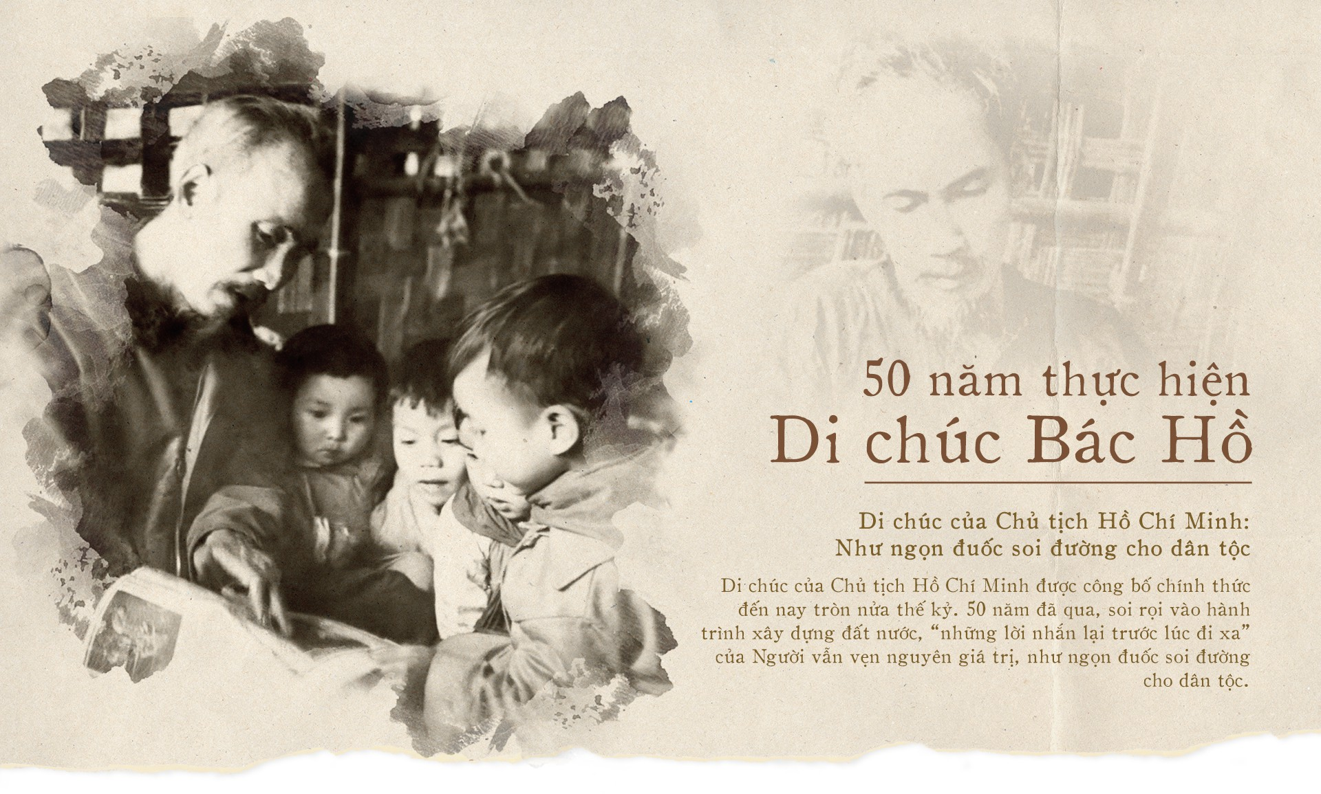 50 năm thực hiện Di chúc của Bác – Những giá trị mang tính tư tưởng thời đại
