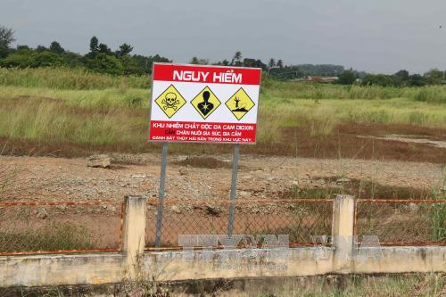 Thành lập Trung tâm hành động khắc phục hậu quả chất độc hóa học, môi trường