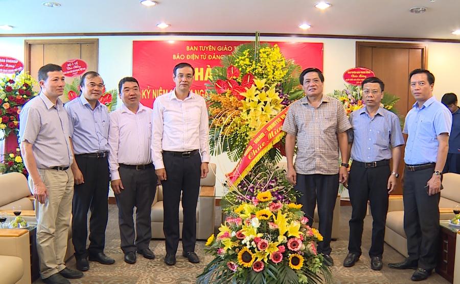Tăng cường phối hợp tuyên truyền giữa Báo điện tử ĐCSVN và Thành phố Hà Nội