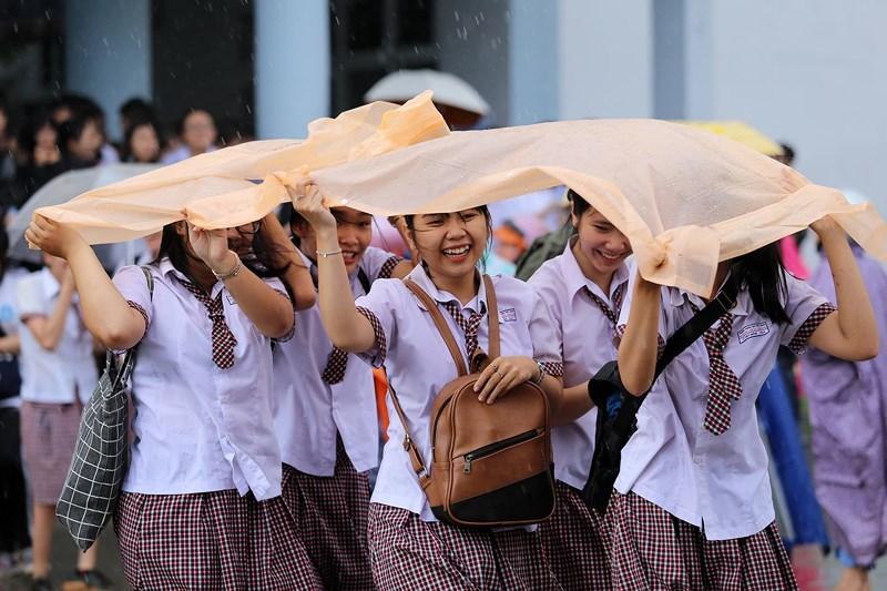 TP. Hồ Chí Minh: Ngày thi đầu tiên diễn ra an toàn, đúng quy chế